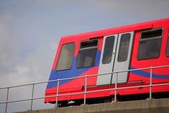 London DLR train Royalty Free Stock Photos