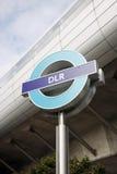London DLR undertecknar Arkivfoton