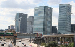London Docklands Royalty Free Stock Images