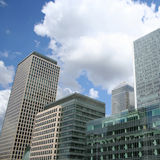London Docklands Royalty Free Stock Photos