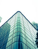 London Docklands business architecture Royalty Free Stock Photo