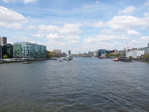 London docks Royalty Free Stock Image