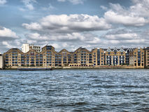 London-Docks stockfoto