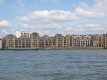 London docks Royalty Free Stock Photos