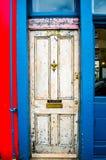 London Door Stock Photo