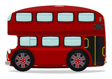 London double decker bus. Royalty Free Stock Photo
