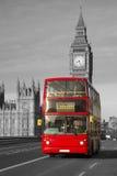 London - double-decker bus Stock Photos
