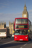 London - double-decker bus Royalty Free Stock Image