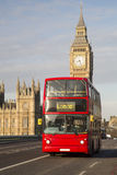 London - double-decker bus Stock Photography