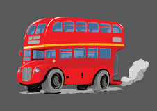 London Double Decker Bus red Royalty Free Stock Image