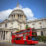 London doubledecker Stock Images