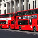 London doubledeckers Royalty Free Stock Image