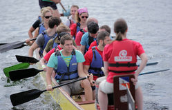 London Dragon Boat Festival Royalty Free Stock Photo