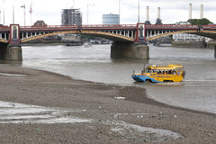 London Duck Tours Lizenzfreies Stockfoto