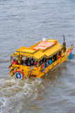 London Duck Tours, Thames River Royalty Free Stock Photo