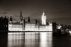 London at dusk Royalty Free Stock Images