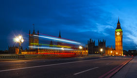London at dusk Royalty Free Stock Photography