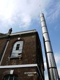 London: East End modern mosque stock photos