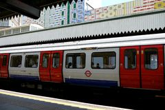 London: Edgware Road tube station h Royalty Free Stock Photography