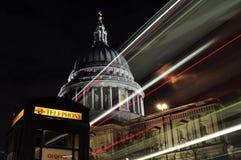 London in einem Bild Stockfoto