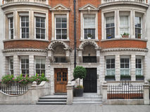 London elegant Victorian townhouses Royalty Free Stock Images