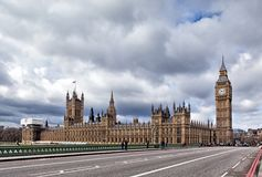 London: The Elizabeth Tower, known as Big Ben Royalty Free Stock Image