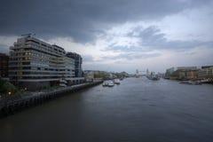 London embankment Royalty Free Stock Photos