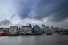 London embankment Stock Photos