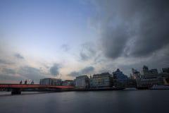 London embankment Royalty Free Stock Image