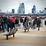 London Embankment Royalty Free Stock Images