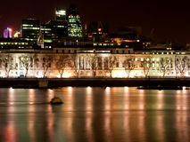 London Embarkment Stock Photography