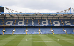 London, England am 13. April 2011. Matthew Harding Stand, previo Lizenzfreie Stockfotografie