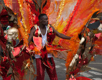 LONDON, ENGLAND - AUGUST 29, 2011: Notting Hill Carnival Stock Photos