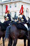 In london england   and cavalry for    the queen Royalty Free Stock Photos