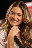 LONDON, ENGLAND - DECEMBER 02: Model Behati Prinsloo backstage at the annual Victoria's Secret fashion show Royalty Free Stock Photos