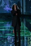LONDON, ENGLAND - DECEMBER 02: Singer Hozier performs during the 2014 Victoria's Secret Fashion Show Royalty Free Stock Photos