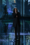 LONDON, ENGLAND - DECEMBER 02: Singer Hozier performs during the 2014 Victoria's Secret Fashion Show Stock Photography