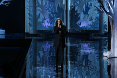 LONDON, ENGLAND - DECEMBER 02:  Singer Hozier performs during the 2014 Victoria's Secret Fashion Show Stock Images