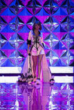 LONDON, ENGLAND - DECEMBER 02: Singer Taylor Swift walks on the runway during the 2014 Victoria's Secret Fashion Show Stock Photography