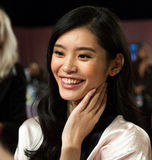 LONDON, ENGLAND - DECEMBER 02: Sui He backstage at the annual Victoria's Secret fashion show Stock Photo