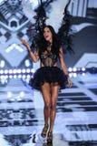 LONDON, ENGLAND - DECEMBER 02: Victoria's Secret model Adriana Lima walks the runway Royalty Free Stock Photos