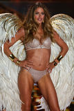 LONDON, ENGLAND - DECEMBER 02: Victoria's Secret model Doutzen Kroes walks the runway Stock Photo