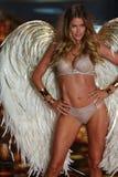LONDON, ENGLAND - DECEMBER 02: Victoria's Secret model Doutzen Kroes walks the runway Royalty Free Stock Image