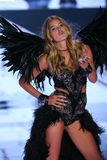 LONDON, ENGLAND - DECEMBER 02: Victoria's Secret model Doutzen Kroes walks the runway Stock Photos