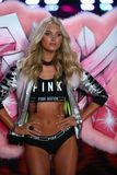 LONDON, ENGLAND - DECEMBER 02: Victoria's Secret model Elsa Hosk walks the runway Stock Photography