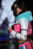 LONDON, ENGLAND - DECEMBER 02: Victoria's Secret model Jacquelyn Jablonski walks the runway Royalty Free Stock Photography