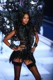 LONDON, ENGLAND - DECEMBER 02: Victoria's Secret model  Lais Ribeiro walks the runway Royalty Free Stock Image