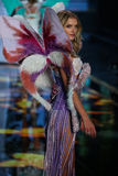 LONDON, ENGLAND - DECEMBER 02: Victoria's Secret model Lily Donaldson walks the runway Stock Photo