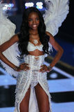 LONDON, ENGLAND - DECEMBER 02: Victoria's Secret model Maria Borges walks the runway Royalty Free Stock Photography
