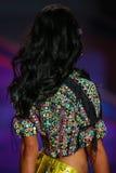 LONDON, ENGLAND - DECEMBER 02: Victoria's Secret model Shanina Shaik walks the runway Royalty Free Stock Images